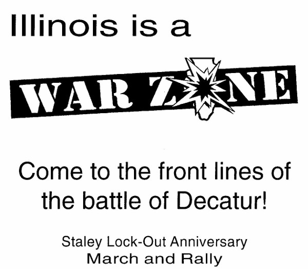 Illinois Was a WarZone