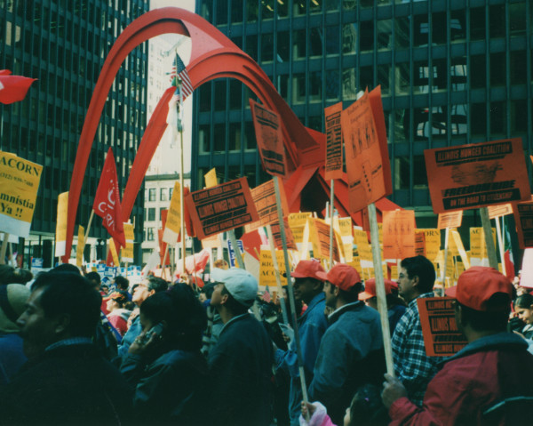 2003 Immigrant Freedom Ride Rally
