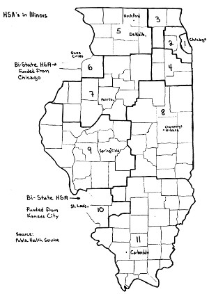 Illinois Health Systems Areas